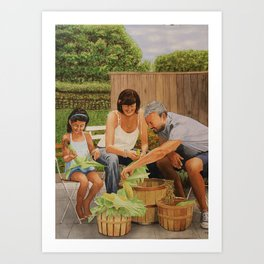 Bodine Road Farm Art Print