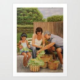 Bodine Road Farm Art Print