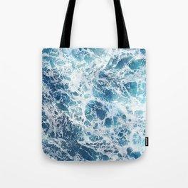 Waves Wash Over Me Tote Bag