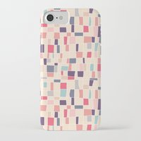 grid iPhone & iPod Cases featuring grid by Marta Olga Klara