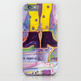 Funny Yellow Tights iPhone Case