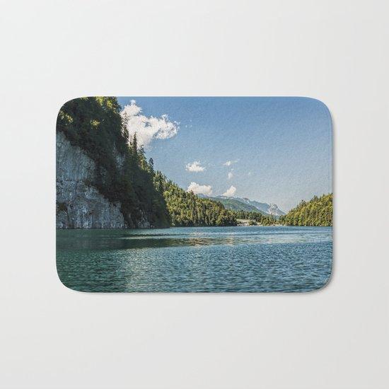 Koenigssee lake Bavaria Mountains Alps on #Society6 Bath Mat