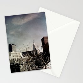 Winter Chill in the City Stationery Cards