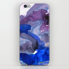 Vellum Watercolor Bliss 3 by Kathy Morton Stanion iPhone Skin