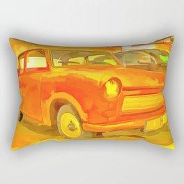 Pop Art Trabant Rectangular Pillow