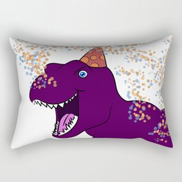 Birthday Dinosaur Rectangular Pillow