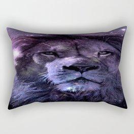 GALAXY LION LEO Rectangular Pillow