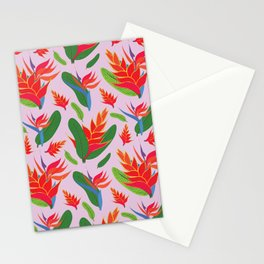 Heliconia Stationery Cards