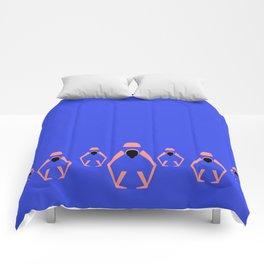 YOGA GIRL #2 Comforters