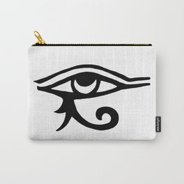 Eye Of Horus White Carry-All Pouch