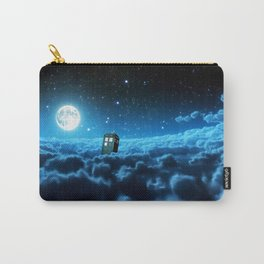 Tardis Cloud And Moon Carry-All Pouch