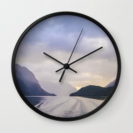A Cruise Through Doubt Wall Clock