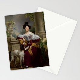 Jan Adam Kruseman, Portrait of Alida Christina Assink, 1833 Stationery Cards