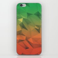 low poly iPhone & iPod Skins featuring Mango (Low Poly) by error23