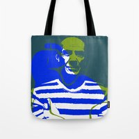 picasso Tote Bags featuring Picasso by Art Pop Store