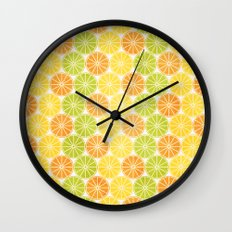 Zesty Slice Wall Clock