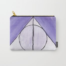Purple Deathly Hallows Carry-All Pouch