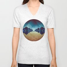 just another lost angel Unisex V-Neck
