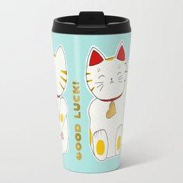 Lucky Manekineko Travel Mug