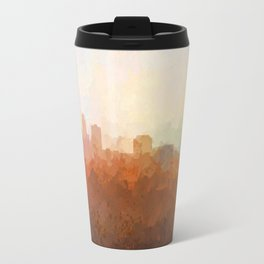 Des Moines, Iowa Skyline Travel Mug