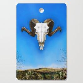 Dartmoor Sheep Skull Cutting Board