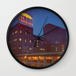 The Travelers Wall Clock
