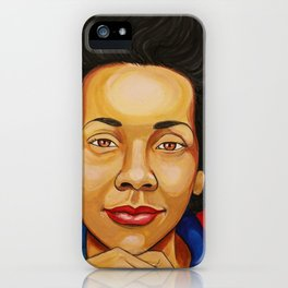 Coretta Scott King iPhone Case