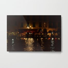 Venezia and Love Metal Print