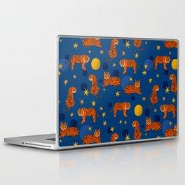 Cosmic Tigers Laptop & iPad Skin