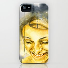 Pluviophile iPhone Case