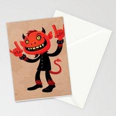 Heavy Metal Devil Stationery Cards