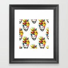 fruit har pattern Framed Art Print