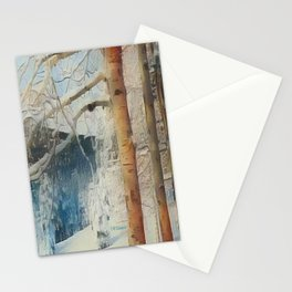 """ Snowy Morn "" Stationery Cards"