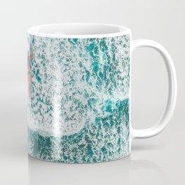 Girl Surfing Coffee Mug