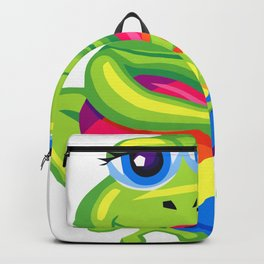 the seductive frog Backpack