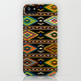 American Indian seamless pattern iPhone Case