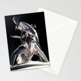 Medusa was the victim, Perseus slaying Medusa Laurent Honoré Marqueste Stationery Cards