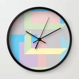 The construction Wall Clock