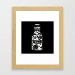 Inverted Distance Framed Art Print