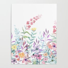 Sweet Spring Meadow Poster