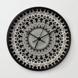 Medieval Mandala Wall Clock