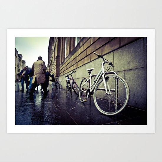 urban cycle IV. Art Print