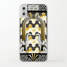 Art Deco Clear iPhone Case