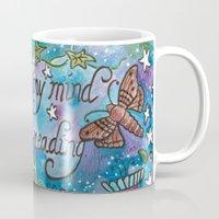 jane austen Mugs featuring Truly Accomplished Woman ~ Jane Austen by Starry Sky Studio