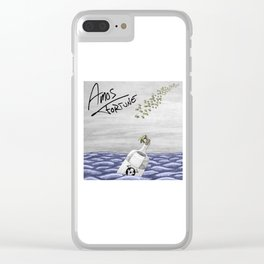 Amos Fortune Bees & Seas Clear iPhone Case