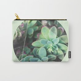 Green Roses in a box Carry-All Pouch
