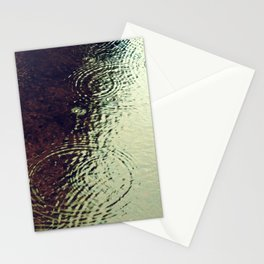 The Skin Of The Water Stationery Cards