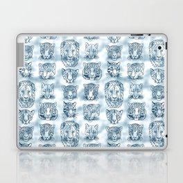 Kickass Kitties - snow Laptop & iPad Skin