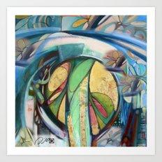 Peace Treaty Mandala Art Print