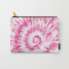 Light Pink Tie Dye Carry-All Pouch